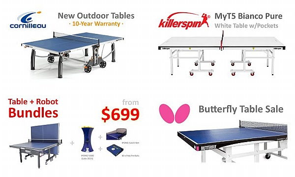 High Quality Table Tennis Tables For Sale