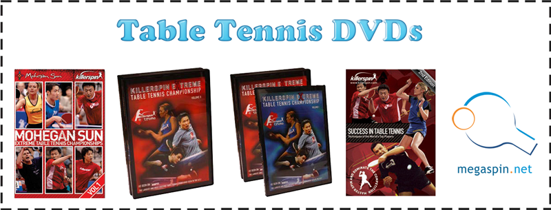 table tennis DVDs