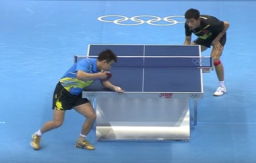 olympics ping pong