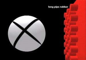 long pips rubber