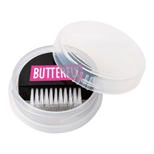 butterfly cleaning brush