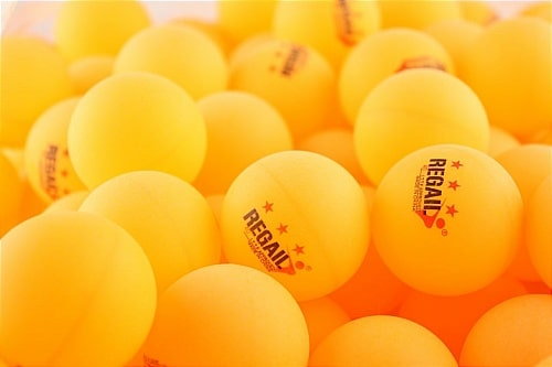 REGAIL yellow ping pong balls