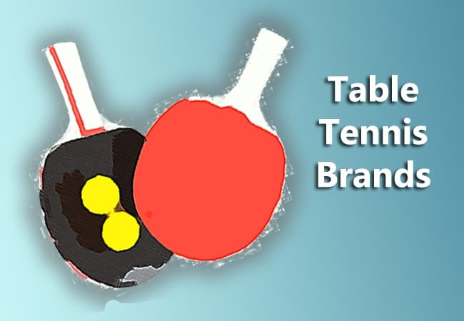 Table Tennis Brands What S In A Name Table Tennis Spot