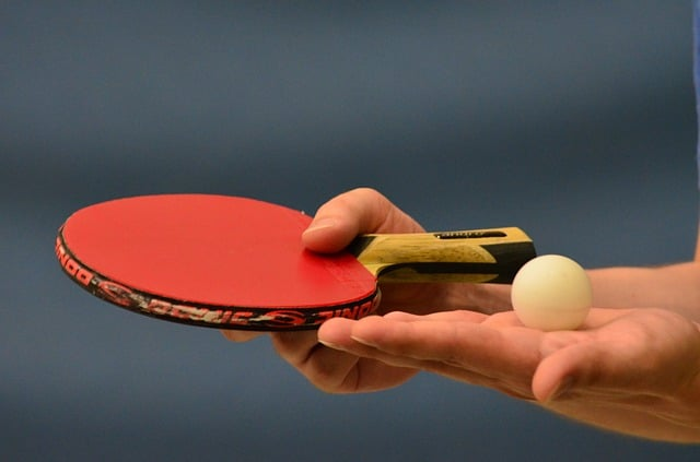 table tennis spin