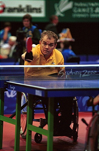 Paralympic Table Tennis