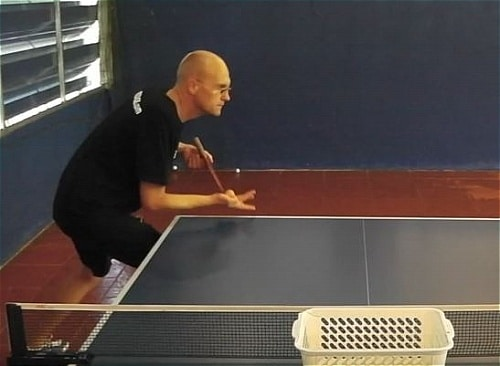 Table tennis advance serve tips table tennis spot for Table tennis serving rules