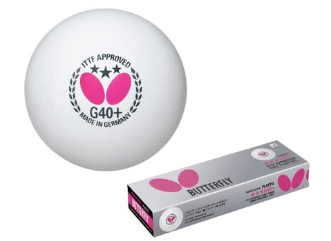 Butterfly 3-Star 40mm ping pong ball