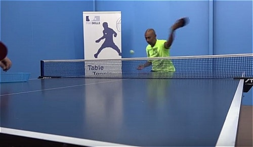 backhand topspin
