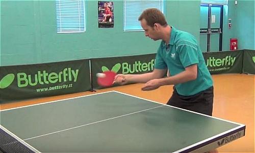 Table Tennis Forehand Backspin Table Tennis Spot