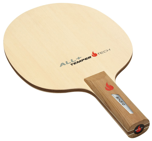 Andro Temper Tech ALL+ table tennis racket