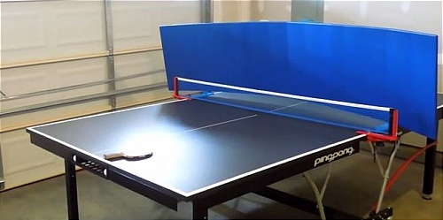 Play the Game Yourself with Table Tennis Return Board