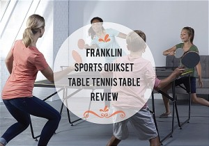 Franklin Sports Quikset Table Tennis Table Review
