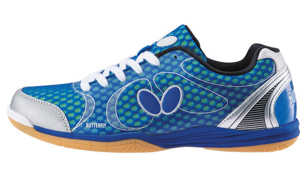 Butterfly Lezoline Lazer Shoes Blue