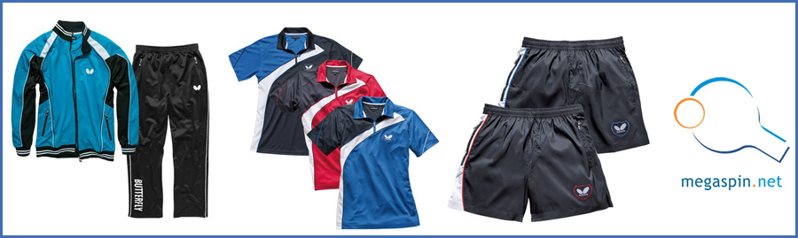 Butterfly Table Tennis Clothing