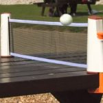 Retractable Ping Pong Net and Set