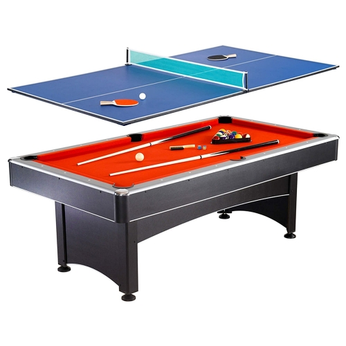 Hathaway Maverick 7-foot Pool and Table Tennis Table