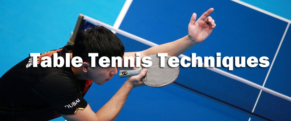 table tennis technique