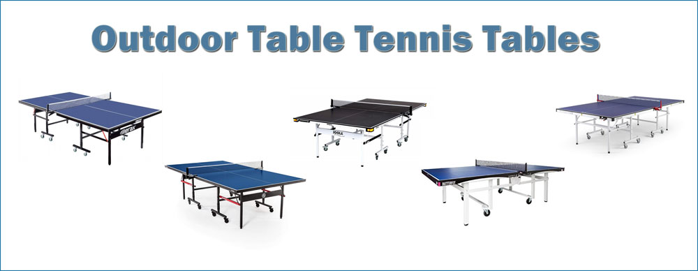 various outdoor table tennis tables