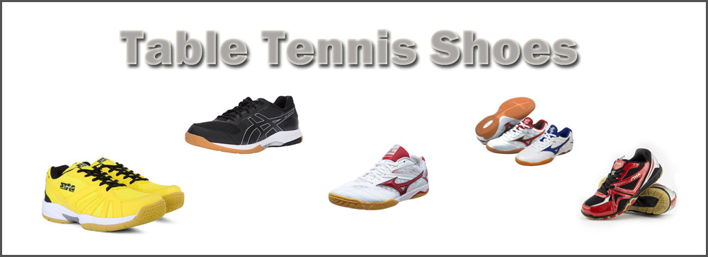 various table tennis shoes