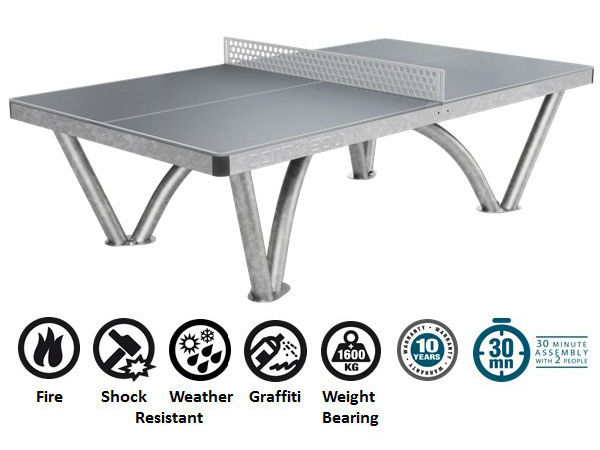 Cornilleau Pro Concrete Ping Pong Table