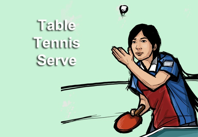 Learn Up Some Easy Table Tennis Serves