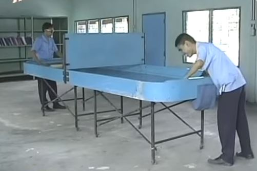 blind table tennis